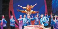 新疆艺术剧院歌舞团首部原创舞剧《艾德莱斯传奇》12月13日晚首演 - 市政府