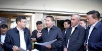 牙生·司地克调研新疆国际大巴扎二期改造工程进展 - 市政府