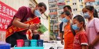 乌鲁木齐市1500个分类垃圾桶陆续分发至各区县 - 市政府